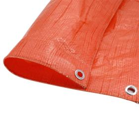 Light-Duty Poly Tarps 55 to 90gsm PE Tarpaulin Fabric for Building and General Cover