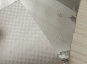 Woven Fabric Laminated Reflective Aluminium Foil