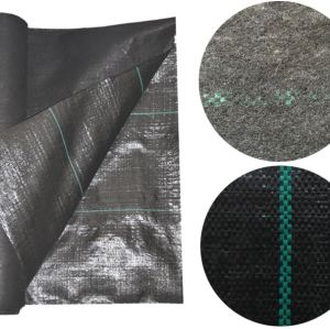 Needle Punched Composite Woven Fabric