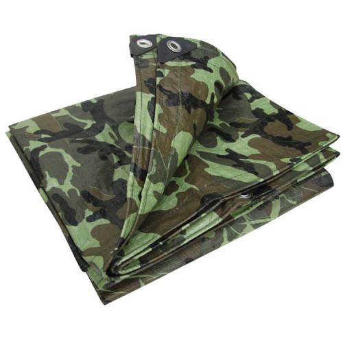 Camouflage PE Tarp