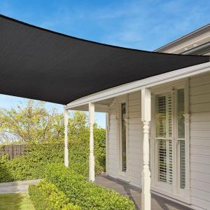 Easy-to-Hang Rectangle Sun Shade Sail with UV for Outdoor Garden Backyard