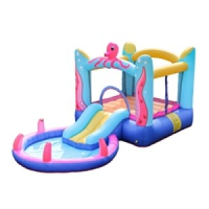 New Arrival Cheap Price Customized PVC Inflatable Octopus Slide Manufacturer from China