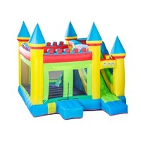 TopSale 100% Full Inspection Prefabricated PVC Fabric Jumping Castle Pool Supplier from China