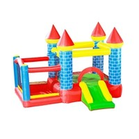 S061A Cheap Price New Arrival Customized PVC Castle Playground Manufacturer from China