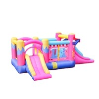 Hot Selling Fast Delivery Inflatable Fabric Air Bouncer Inflatable Trampoline Wholesale in China