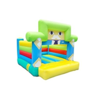 Best Price New Design OEM Accept Fabric material Indoor Mini Bouncy Castle Factory in China