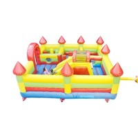 S068A 100% Full Test Hot Sale Custom Design Oxford Fabric Inflatable Vagina Slide Supplier in China