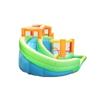 Top Sale 100% Full Inspection Oxford Water Park Inflatable Bouncers Castle Jumping House Supplier from China