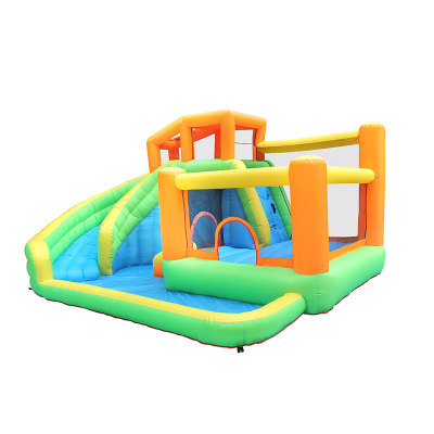 TopSale 100% Full Inspection Oxford Water Park Inflatable Bouncers Castle Jumping House Supplier from China