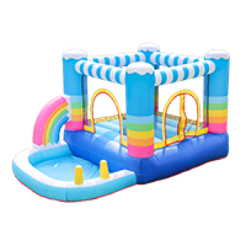Hot Sale 100% Full Test Custom Design Oxford Fabric Air Bouncer Supplier in China