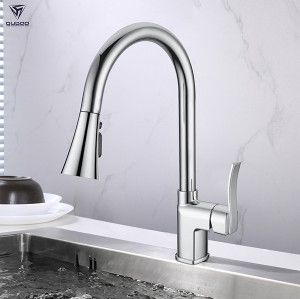 OUBAO Chrome Kitchen Mixer Faucet with Cupc
