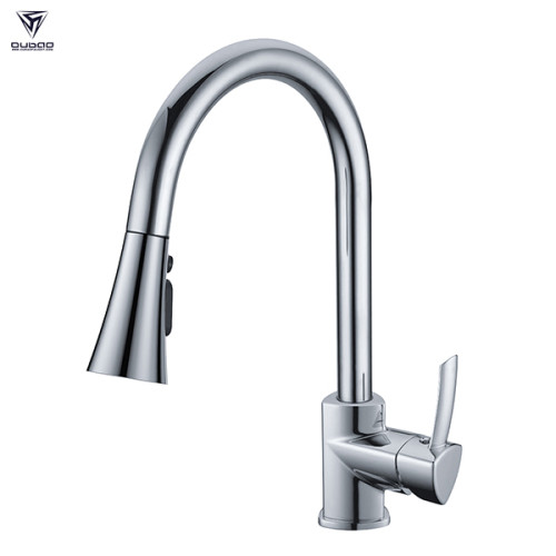 Single handle kitchen faucet mixer tap with pull out spray