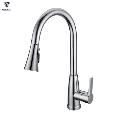 OUBAO Single Lever Chrome Kitchen Taps Mixer with cUPC certificate