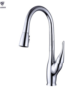 OUBAO Kitchen Sink Tap with Flexible Movable Multi-Function Spray
