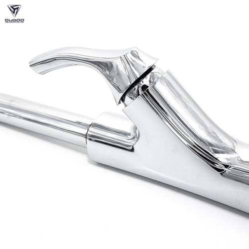 OUBAO Three Flow 3 way kitchen faucet with High Arc 360 Degree Swivle Spout
