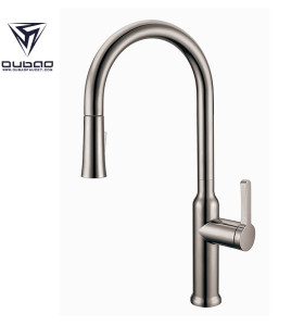 OUBAO Kitchen Sink Fuacet with Pull Down Flow Sparyer