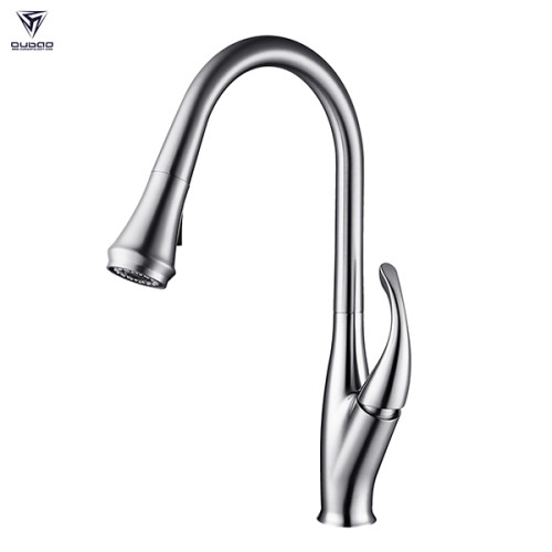 Modern Mixing Pull Down Pull Out Kitchen Faucet Hot And Cold Water