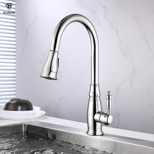 Hot sale 360 degree rotatable flexible ceramic cartridge durable kitchen faucet