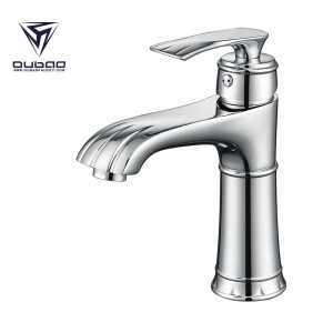 OUBAO Chrome Bathroom Sink Mixer Tap  Faucets of Chrome Bathroom Fixtures