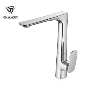 OUBAO Modern Kitchen Sink Faucet Single Handle