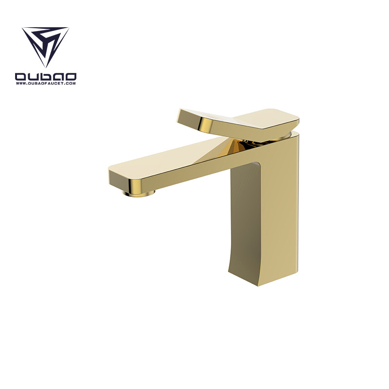 Bathroom Basin Faucet Gold