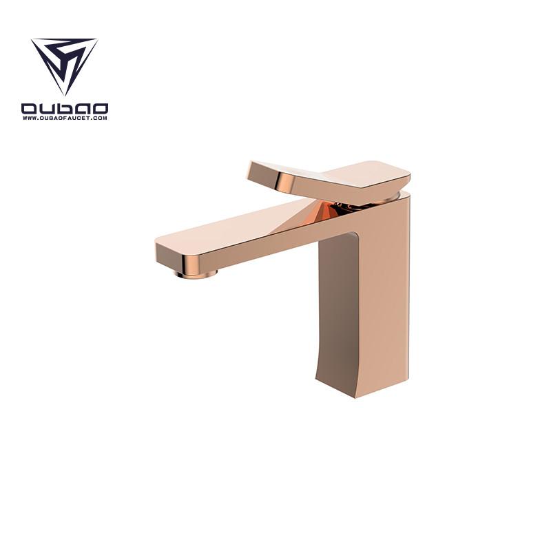 Bathroom Basin Faucet Rose Gold
