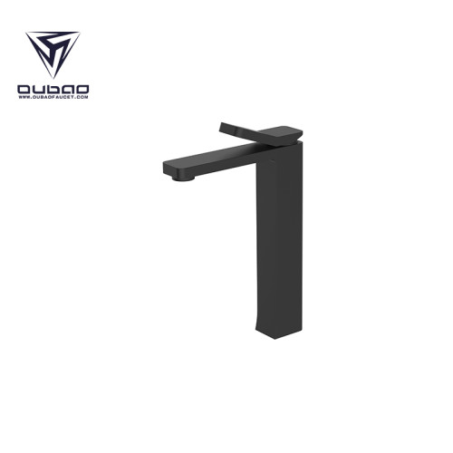 OUBAO Best Washbasin Faucet Black Brass For China KaiPing