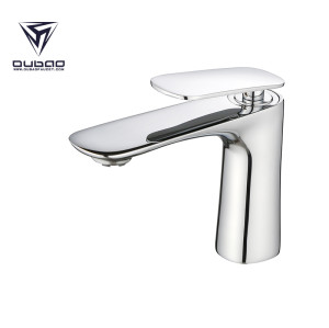 OUBAO Bathroom Faucet Chrome Tap Washbasin with In Stock Inventory