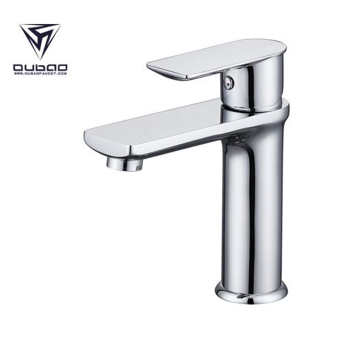 OUBAO Deck mounted Single handle Face bathroom Basin faucet