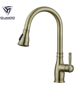 OUBAO Bronze Commercial Kitchen Faucet For Sink