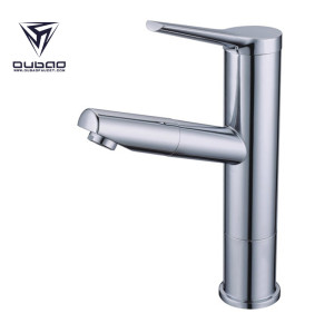 OUBAO Traditional Hot And Cold Bathroom Wash Basin Sink Taps
