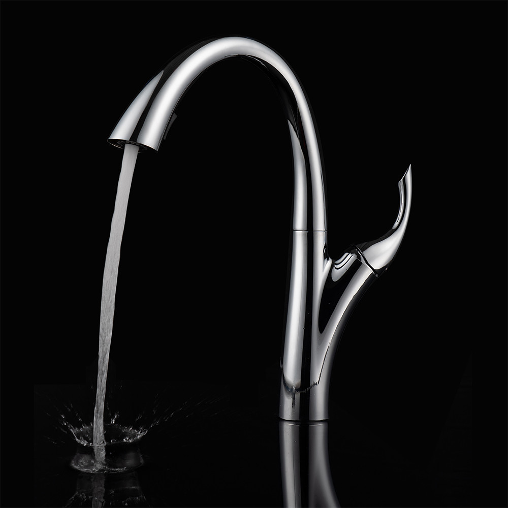 The water pressure of my faucet is very low. How can I increase the flow?OUBAO Answer