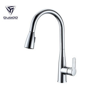 Kaiping Faucet Manufacturer Kitchen Mixer Faucet Tap with Sprayer