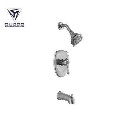 OUBAO thermostatic Bathroom Shower Faucets Set