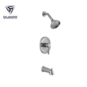 OUBAO Best Single Lever Bathroom Hot and Cold Shower Faucets