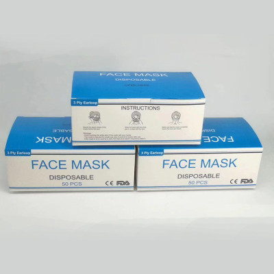 Disposable 3-layer sterile mask
