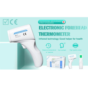 Digital Forehead Thermometer, Non-Contact Forehead Thermometer for Kids and Adult