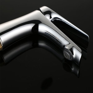 Chrome Polished Bathroom Sink Basin Mixer Tap Single Hole