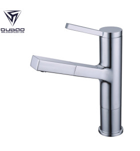 OUBAO Single Hole Single Handle Bathroom Basin Faucet