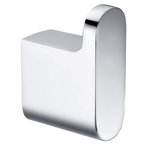 OUBAO Bathroom Hotle Home Chrome Robe Hook Single