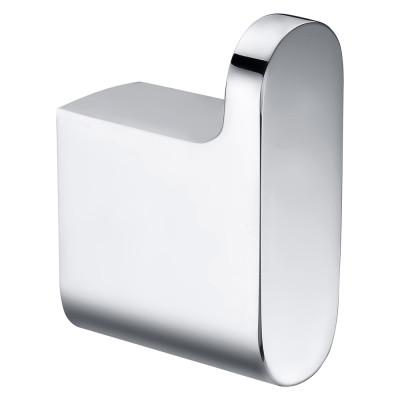 OUBAO Bathroom Hotle Home Chrome Robe Hook Single