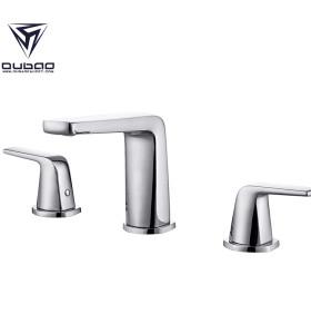Modern 3 Piece 8 Inch Widespread Bathroom Faucet