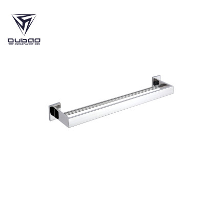 OUBAO Modern Wall Mounted Stainless Steel Towel Rack