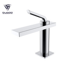 OUBAO Single Lever Hole Brass Lavatory Vanity Basin Mixer Faucet