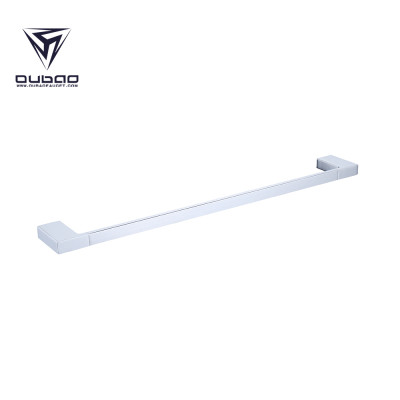 Oubao Bathroom Hand Towel Bar Chrome Shelf with Towel Bar