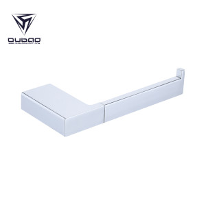 Oubao Chrome Wall Mounted Toilet Tissue Holder Made of Stainless Steel