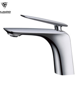 OUBAO Wash Basin Mixture Tap Chrome Modern Brass