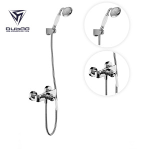 OUBAO Exposed Shower System With Tub Faucet Shower Faucet Set With Handheld
