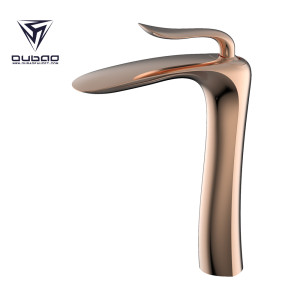 OUBAO Contemporary Tall Bathroom Basin Taps Mixer Sale