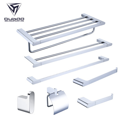 Oubao 5pcs Elegant Bathroom Accessories Sets